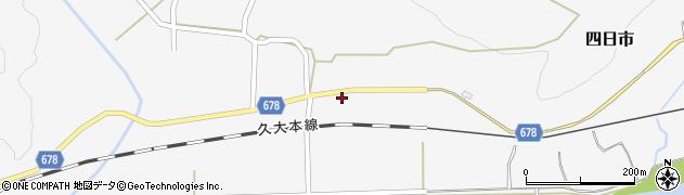 大分県玖珠郡玖珠町四日市819周辺の地図