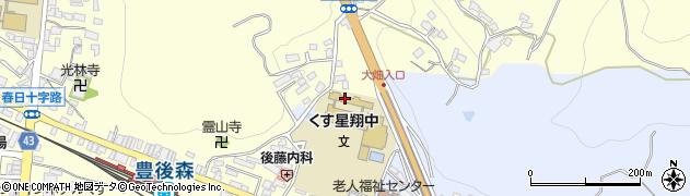 大分県玖珠郡玖珠町帆足505周辺の地図