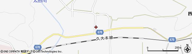 大分県玖珠郡玖珠町四日市780周辺の地図