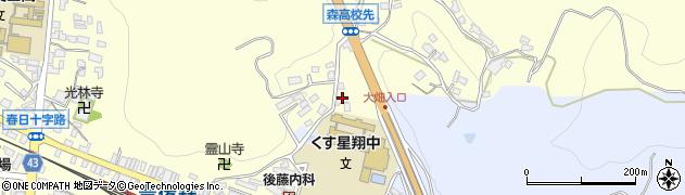 大分県玖珠郡玖珠町帆足516周辺の地図