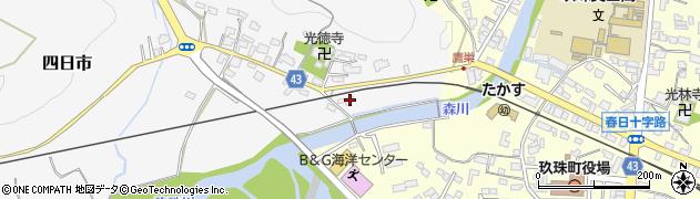 大分県玖珠郡玖珠町四日市361周辺の地図