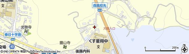 大分県玖珠郡玖珠町帆足517周辺の地図