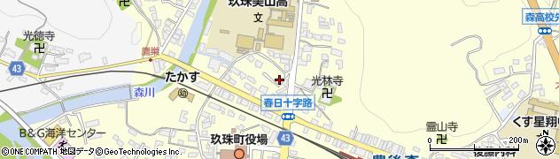 大分県玖珠郡玖珠町帆足204周辺の地図
