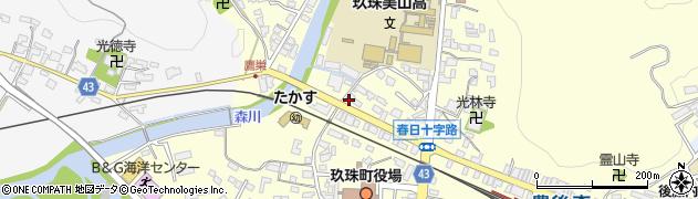 大分県玖珠郡玖珠町帆足210周辺の地図