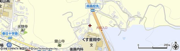 大分県玖珠郡玖珠町帆足518周辺の地図