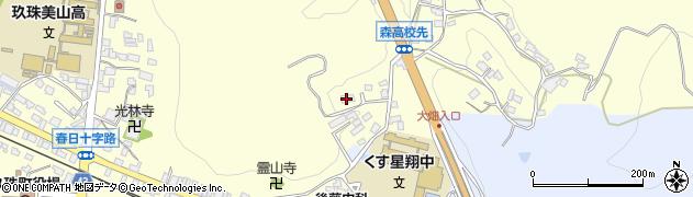 大分県玖珠郡玖珠町帆足527周辺の地図