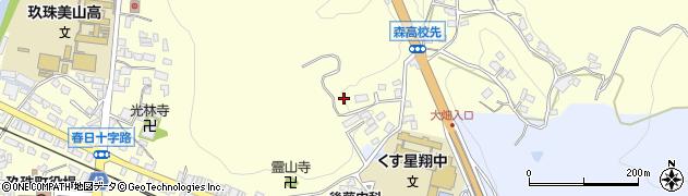 大分県玖珠郡玖珠町帆足528周辺の地図