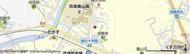 大分県玖珠郡玖珠町帆足157周辺の地図