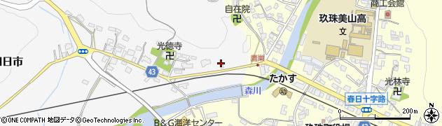 大分県玖珠郡玖珠町四日市369周辺の地図