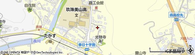 大分県玖珠郡玖珠町帆足164周辺の地図