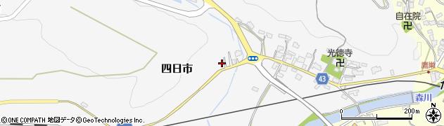 大分県玖珠郡玖珠町四日市252周辺の地図