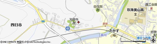 大分県玖珠郡玖珠町四日市339周辺の地図