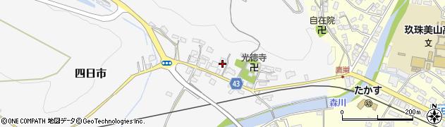 大分県玖珠郡玖珠町四日市285周辺の地図