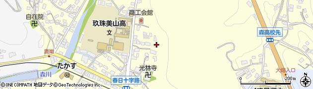 大分県玖珠郡玖珠町帆足135周辺の地図