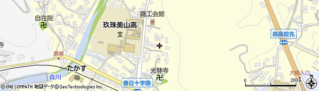 大分県玖珠郡玖珠町帆足166周辺の地図