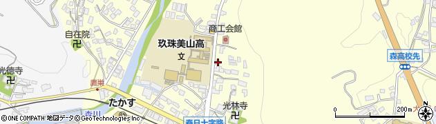 大分県玖珠郡玖珠町帆足181周辺の地図