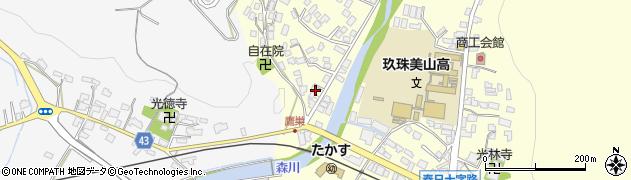 大分県玖珠郡玖珠町帆足2733周辺の地図