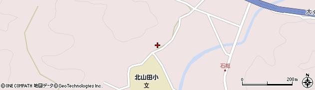 大分県玖珠郡玖珠町戸畑3136周辺の地図