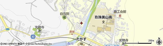 大分県玖珠郡玖珠町帆足2734周辺の地図