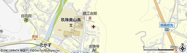 大分県玖珠郡玖珠町帆足170周辺の地図