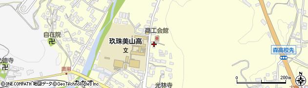 大分県玖珠郡玖珠町帆足173周辺の地図
