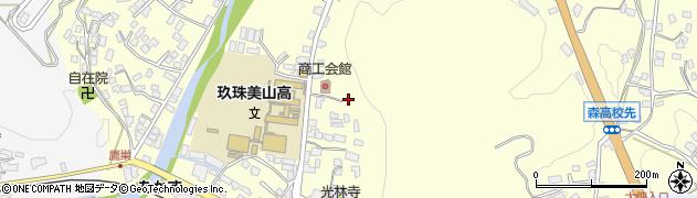 大分県玖珠郡玖珠町帆足128周辺の地図