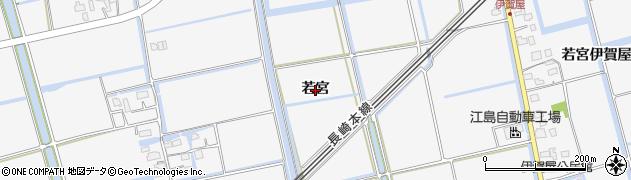 佐賀県佐賀市兵庫町(若宮若宮)周辺の地図