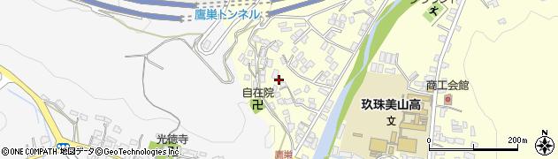 大分県玖珠郡玖珠町帆足鷹巣周辺の地図