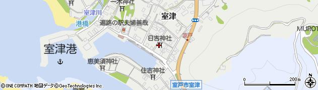 日吉神社周辺の地図