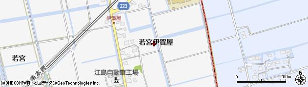 佐賀県佐賀市兵庫町(若宮伊賀屋)周辺の地図