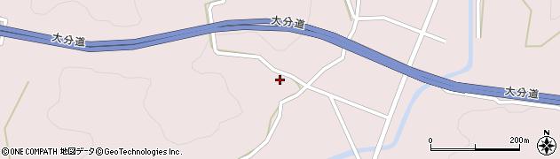 大分県玖珠郡玖珠町戸畑2793周辺の地図