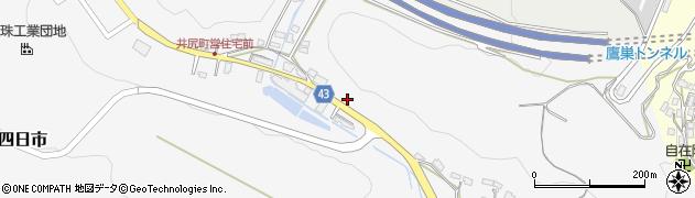 大分県玖珠郡玖珠町四日市208周辺の地図