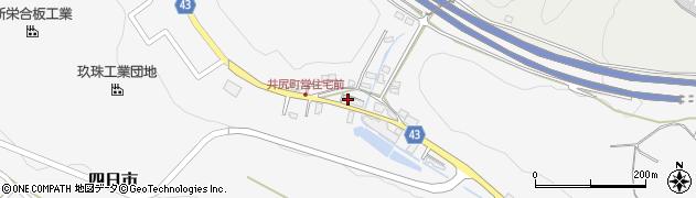 大分県玖珠郡玖珠町四日市157周辺の地図