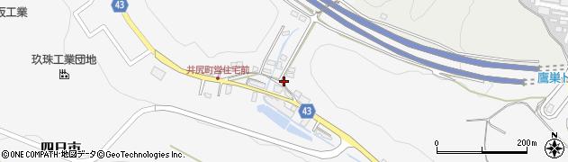 大分県玖珠郡玖珠町四日市219周辺の地図