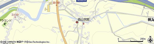 大分県玖珠郡玖珠町帆足891周辺の地図