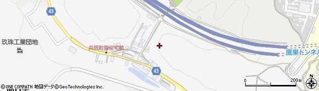 大分県玖珠郡玖珠町四日市井の尻周辺の地図