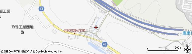 大分県玖珠郡玖珠町四日市215周辺の地図