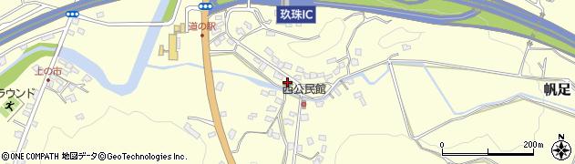 大分県玖珠郡玖珠町帆足893周辺の地図