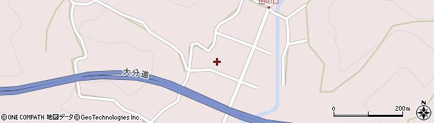 大分県玖珠郡玖珠町戸畑田の口周辺の地図