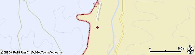 大分県玖珠郡九重町松木中須周辺の地図