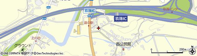 大分県玖珠郡玖珠町帆足2126周辺の地図