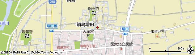 佐賀県佐賀市鍋島町(鍋島増田)周辺の地図
