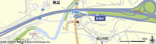大分県玖珠郡玖珠町帆足2124周辺の地図