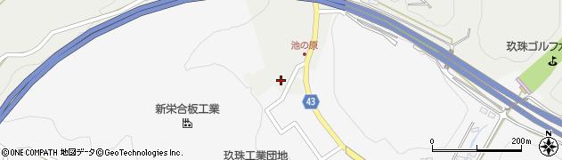 大分県玖珠郡玖珠町四日市1034周辺の地図