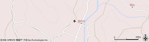 大分県玖珠郡玖珠町戸畑2611周辺の地図