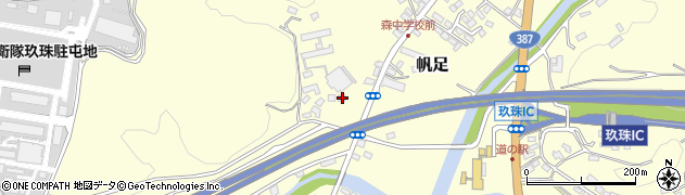 大分県玖珠郡玖珠町帆足2256周辺の地図