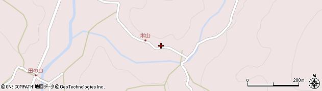 大分県玖珠郡玖珠町戸畑2097周辺の地図