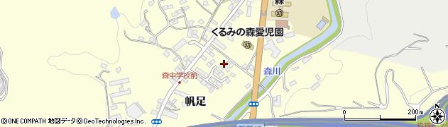 大分県玖珠郡玖珠町帆足2180周辺の地図