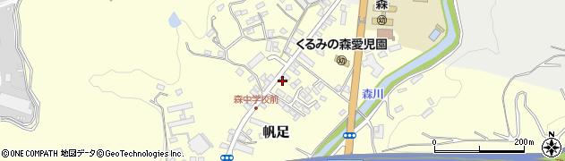 大分県玖珠郡玖珠町帆足2176周辺の地図