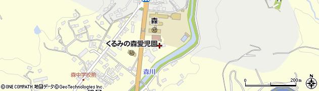 大分県玖珠郡玖珠町帆足2194周辺の地図